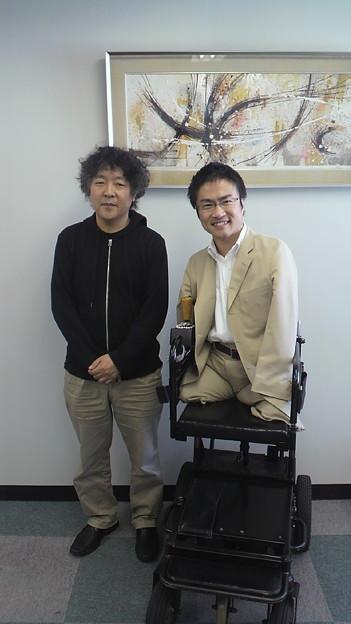 写真: 長岡市立劇場なう。脳科学者・茂木健一郎@kenichiromogiさんと対談、すっ...