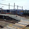 自転車ごと乗車(熊本電鉄)   NEC_6955