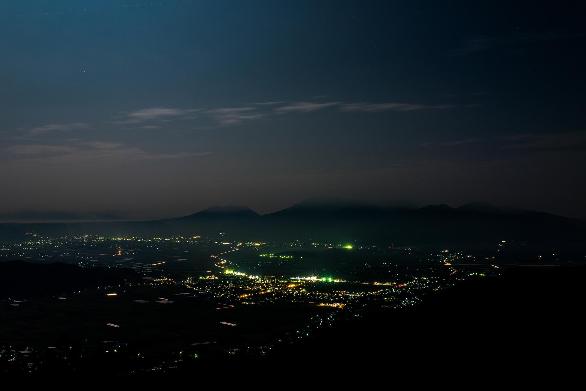阿蘇の夜景
