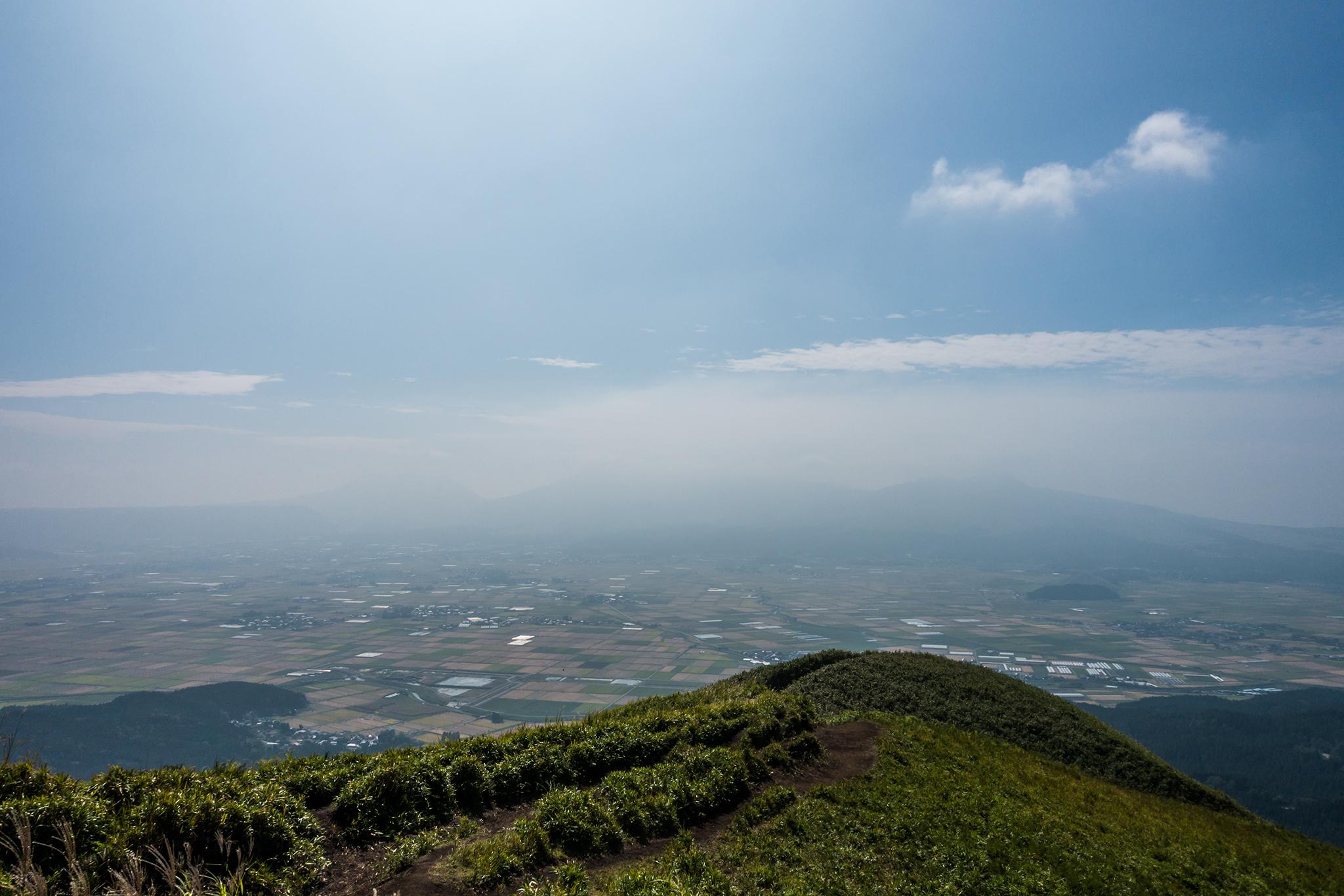 大観峰から南