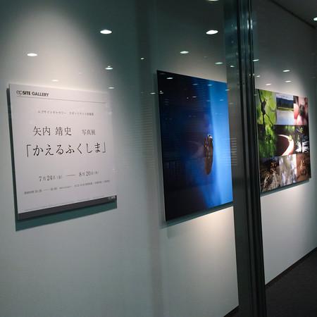 矢内靖史写真展「かえるふくしま」