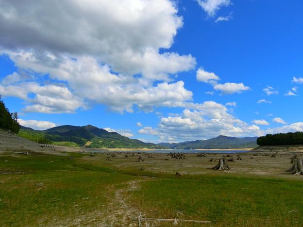 美しき糠平湖