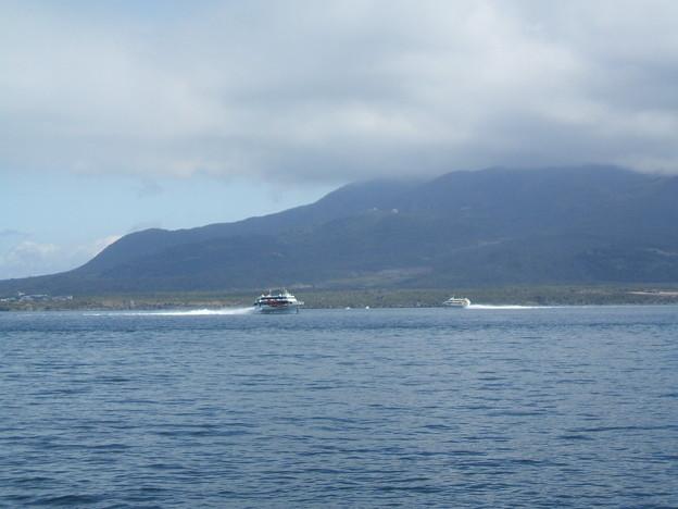 水中翼船2台 与次郎 鹿児島湾