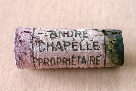 コルク翌々日:Santenay-Beaurepaire 1er Cru 1990