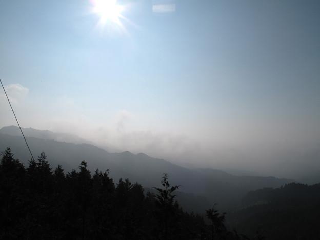 写真: IMG_9523 平谷峠から朝霧?