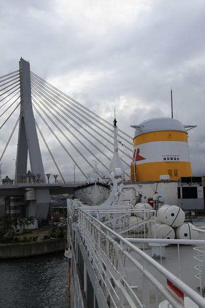 青函連絡船メモリアルシップ 八甲田丸 -4- ブリッジから