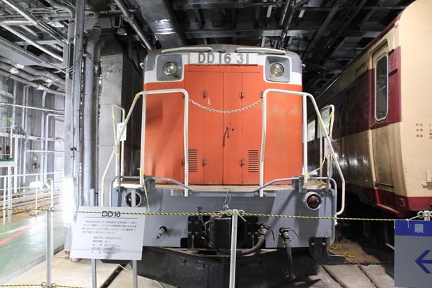 青函連絡船メモリアルシップ 八甲田丸 -9- 車両甲板 DD16 31