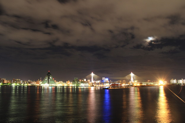 青森港 -10- 夜景