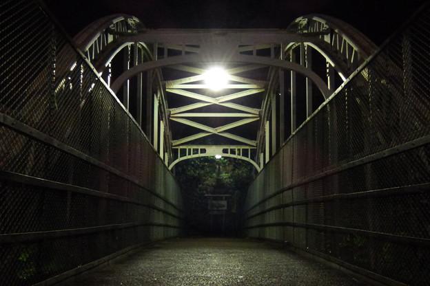 飛鳥山下跨線人道橋(2)