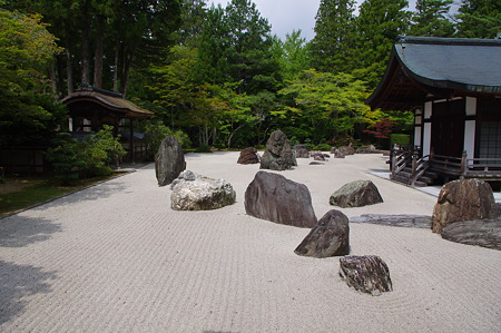 金剛峰寺庭園