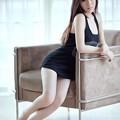 Photos: ブラック下着と肌の露出 H度満載ッ(笑) 今日の気になる小姐 7-28 (1)