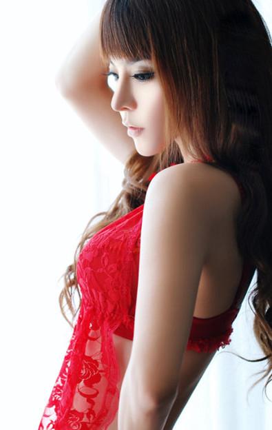 紅いビキニと赤い下着の色っぽいさッ 今日の気になる小姐 8-11 (2)