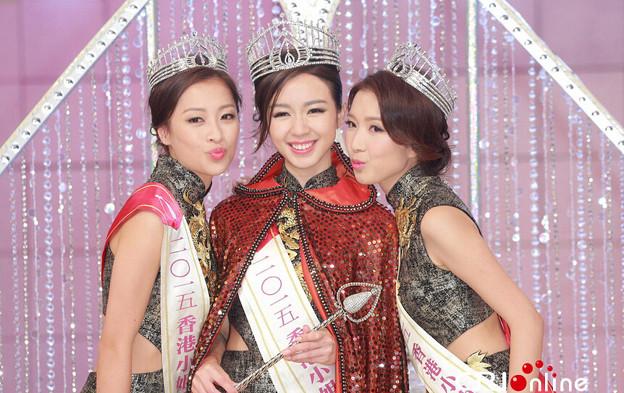 2015ミス香港 今年のミスは・・・(笑) 今日の大陸小姐 9-23 (1)