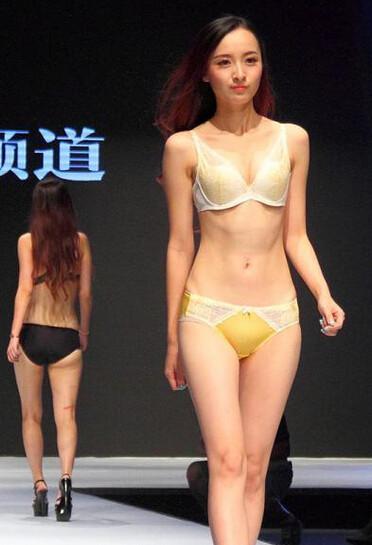 南京の下着モデルさん 今日の大陸小姐 9-24 (3)