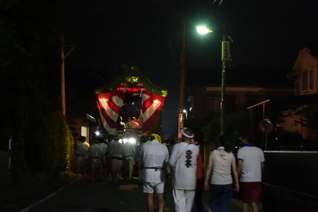 布川神社臨時大祭一日目 山車