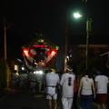 写真: 布川神社臨時大祭一日目 山車