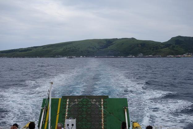 Photos: さよなら北の島