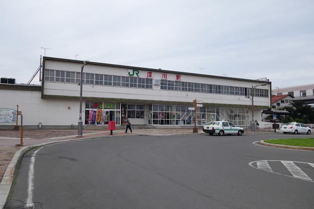 Photos: 函館本線 深川駅