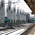 北陸本線 糸魚川駅 北陸新幹線高架工事