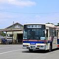 ひたちなか海浜鉄道 湊線 阿字ヶ浦駅 代行バス