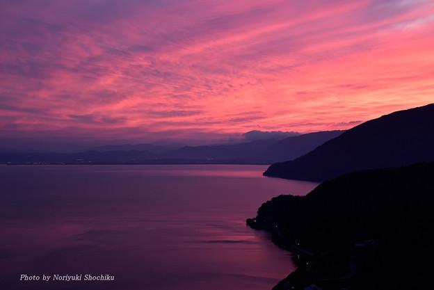 奥琵琶湖・夕景