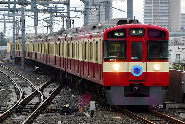 9000系9103F〈RED LUCKY TRAIN〉(4138レ)準急SI01池袋