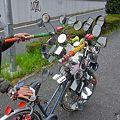 最強40面鏡死角なし全方向観覧可能Super自転車1