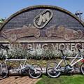 自転車でモテギ