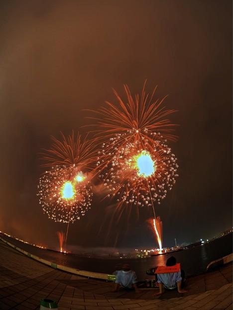 Photos: 2015年8月2日 清水みなと祭り 海上花火大会(4)