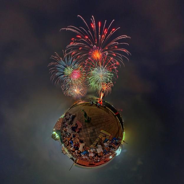2015年8月2日 清水みなと祭り 海上花火大会 Little Planet
