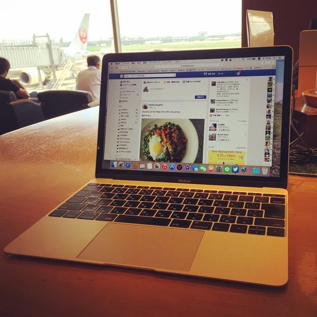 写真: 150625 羽田空港