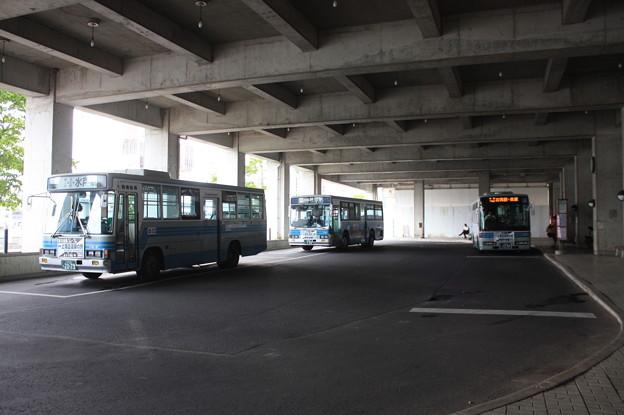 石岡駅バスターミナル