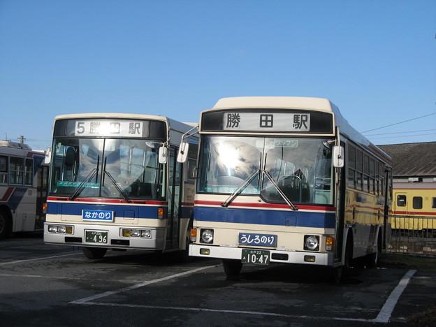 茨城交通 496号車&1047号車
