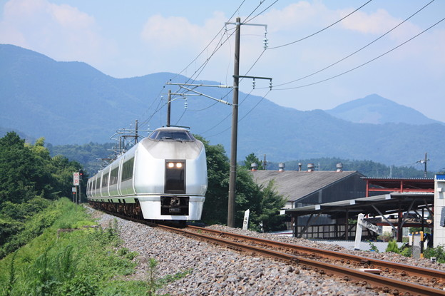 651系K105編成 9741M 集約臨時列車 (2)