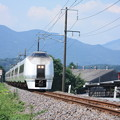 Photos: 651系K105編成 9741M 集約臨時列車 (2)