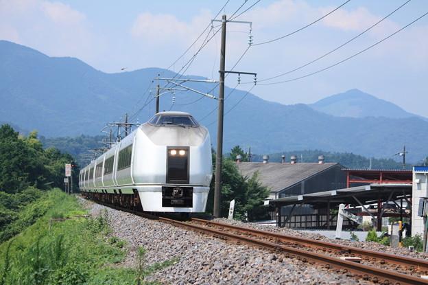 651系K105編成 9741M 集約臨時列車 (4)
