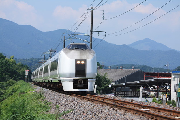 651系K105編成 9741M 集約臨時列車 (6)