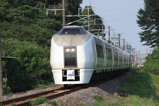 651系K105編成 9744M 集約臨時列車 (6)