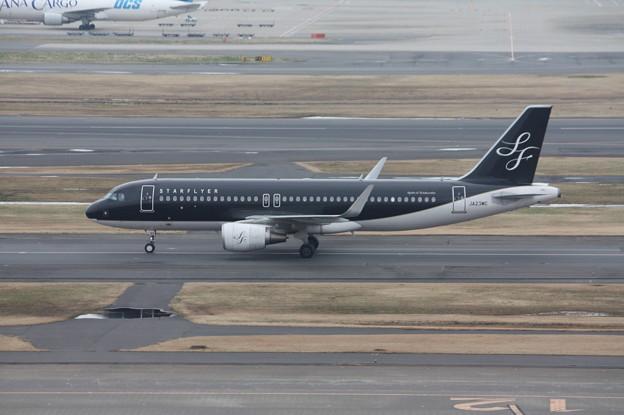 スターフライヤー エアバスA320 JA23MC