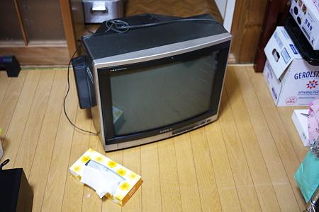テレビ壊れました