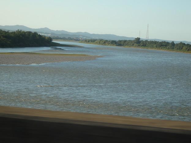 川が見えます