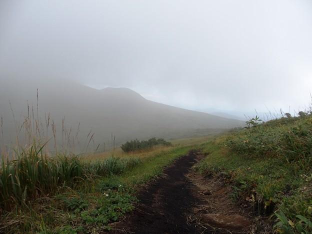 栗駒山への復路