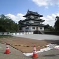 Photos: お城の移動場所