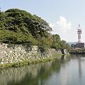 写真: 彦根城、中堀