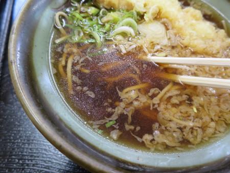 ルート8 天ぷらそば つゆアップ