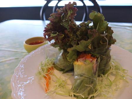Asian Kitchen Ashmita(プレオープン期間中) アジアンランチ 生春巻き