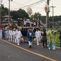写真: 祭り行列