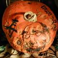 かぼちゃに書く