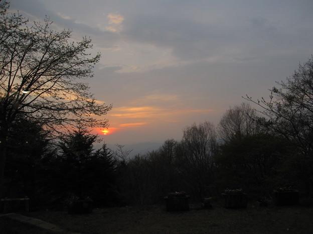 秩父の夕景