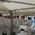 Photos: TCGゲディズの艦長以下乗組員上陸のあいさつ